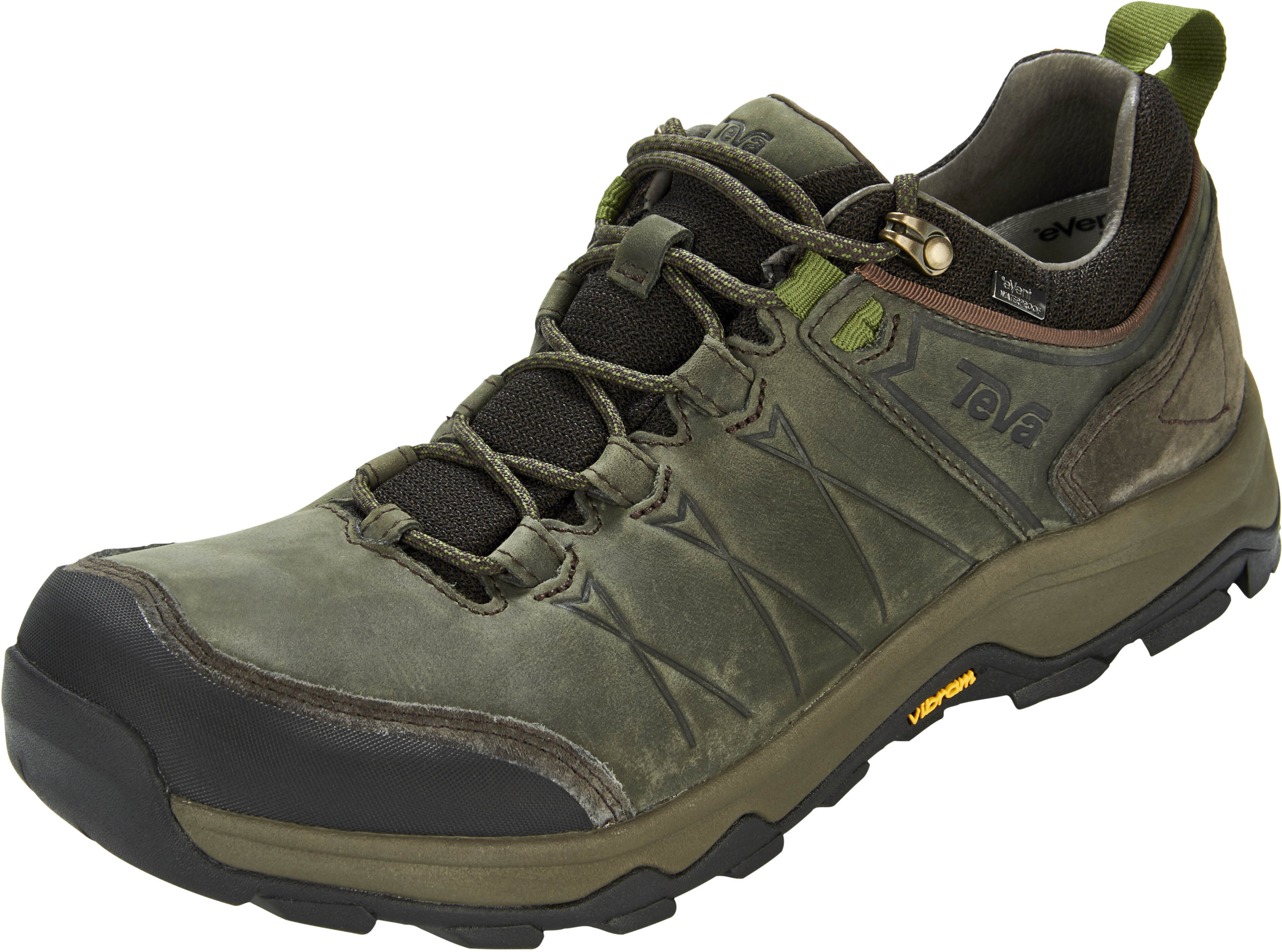 b434f39833e42c Teva Arrowood Riva WP Shoes Men black olive at Addnature.co.uk